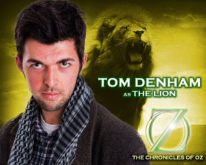 Tom Denham as the Lion