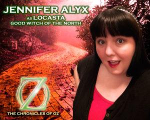 Jennifer Alyx as Locasta