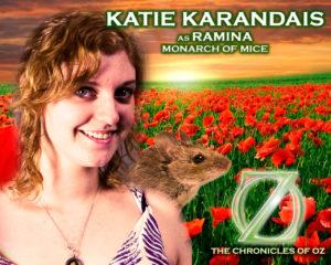 Katie Karandais as Ramina