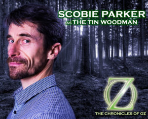 Scobie Parker as the Tin Woodman